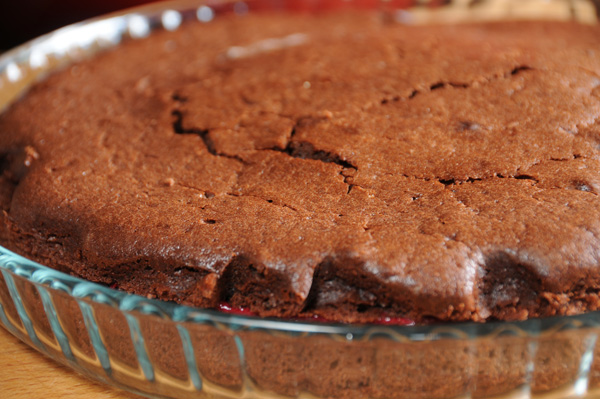 Sjokoladekake som Heidi lager'n