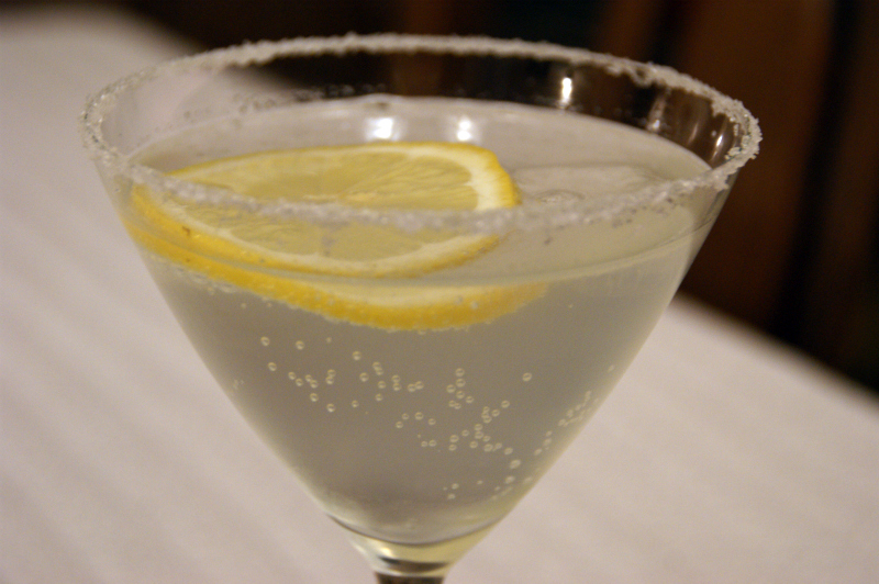 Gin meets lemon