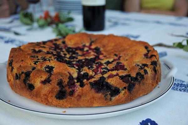 Paolo's kake med skogsbær
