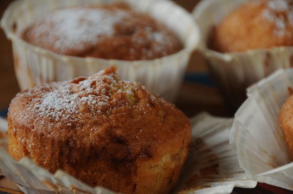 Muffins med syltetøy