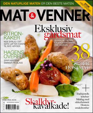 Vinn årsabonnement på «Mat & Venner»!