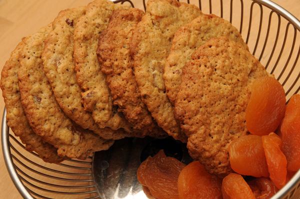 Aprikos cookies