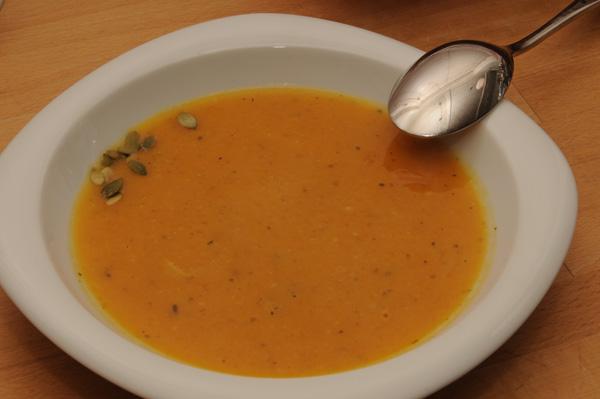 Gresskar-suppe