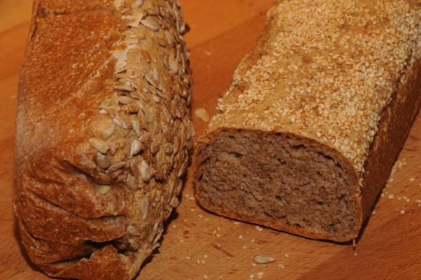 Langbakt brød